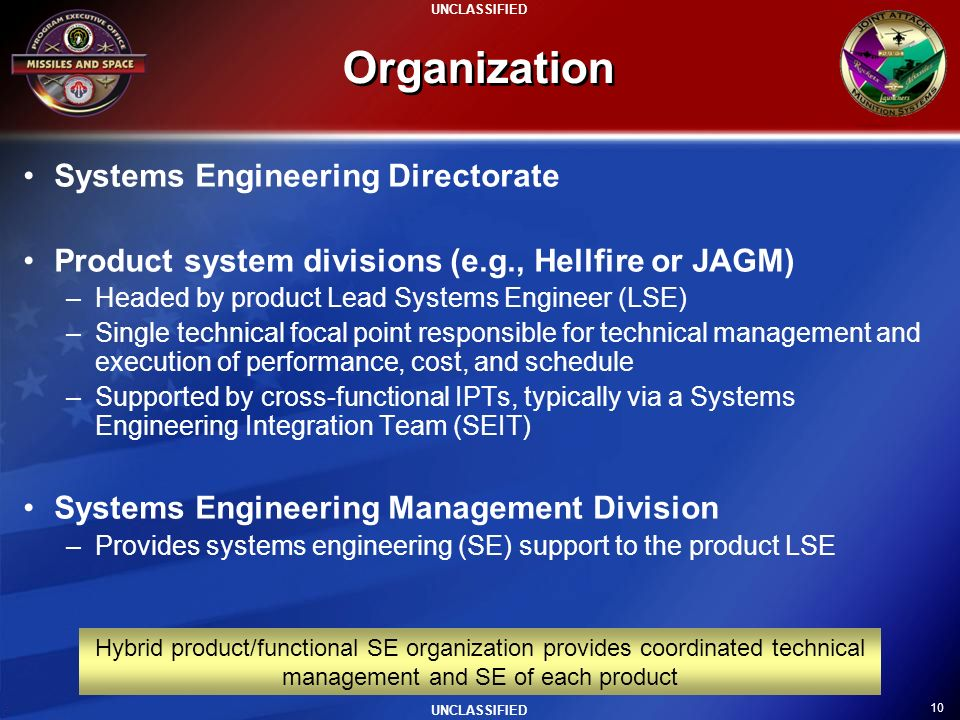 Organization Systems Engineering Directorate