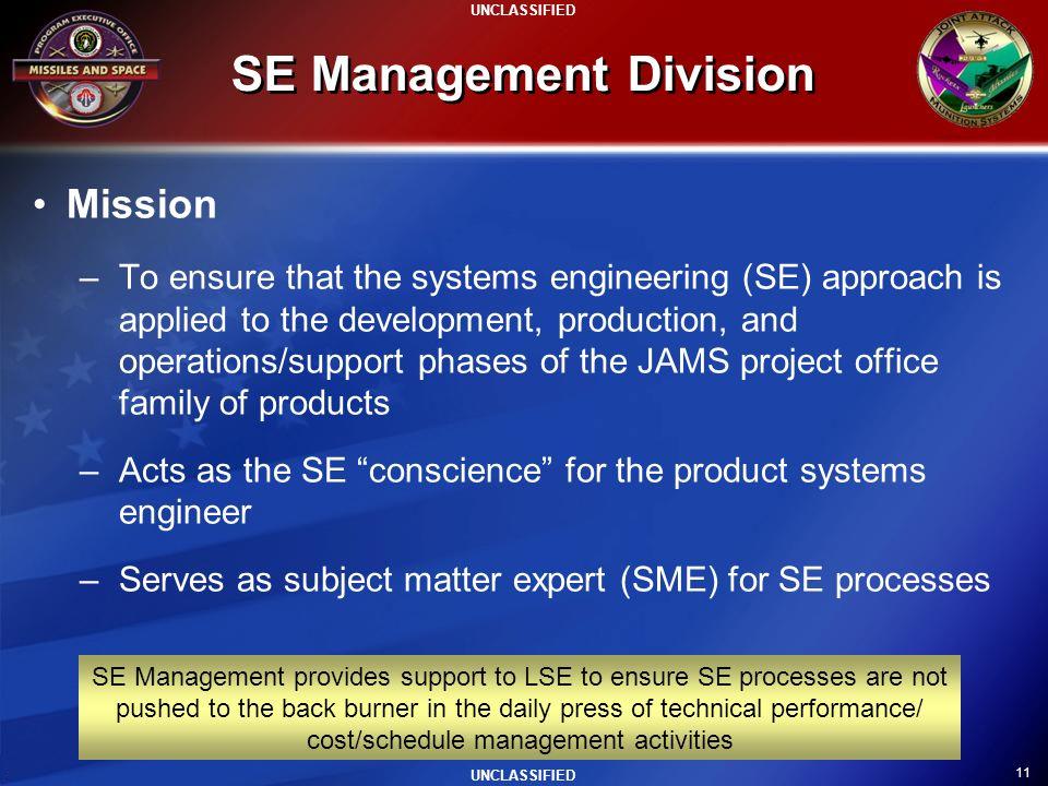 SE Management Division