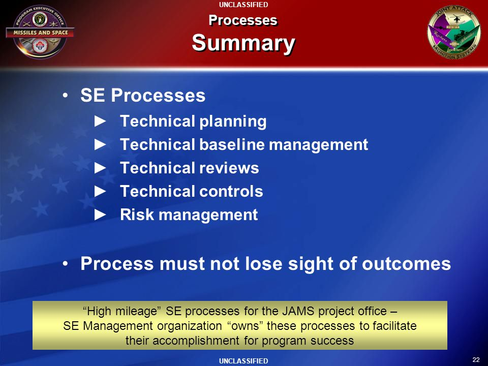 Process must not lose sight of outcomes