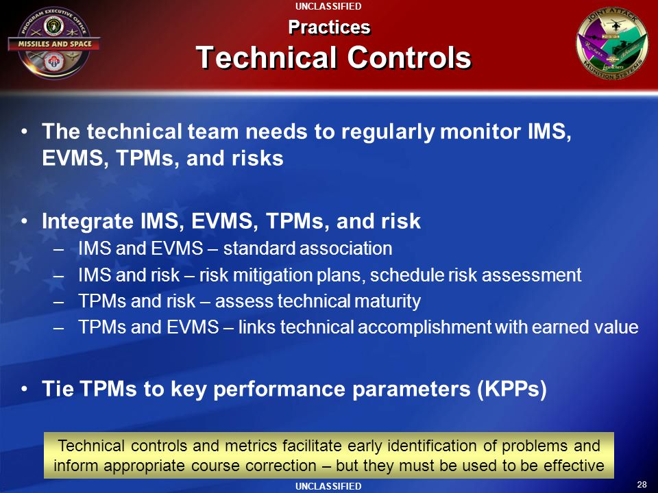Practices Technical Controls