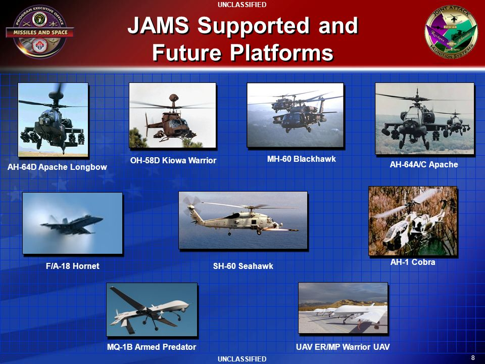 JAMS Supported and Future Platforms