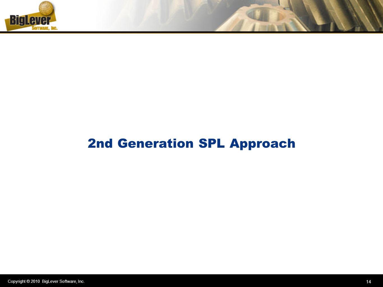 2nd Generation SPL Approach