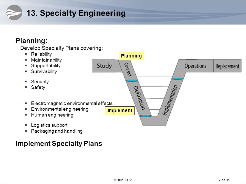 13. Specialty Engineering