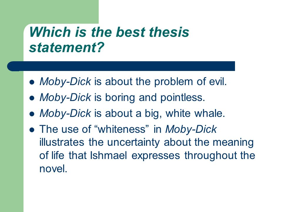 what is a good thesis statement for the book speak How to write a thesis statement what is a thesis statement almost all of us—even if we don't do it consciously—look early in an essay for a one- or two-sentence condensation of the argument or analysis that is to follow.