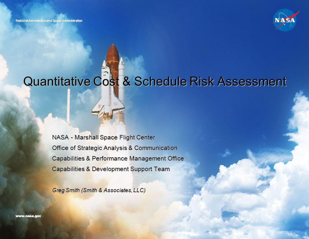Quantitative Cost & Schedule Risk Assessment