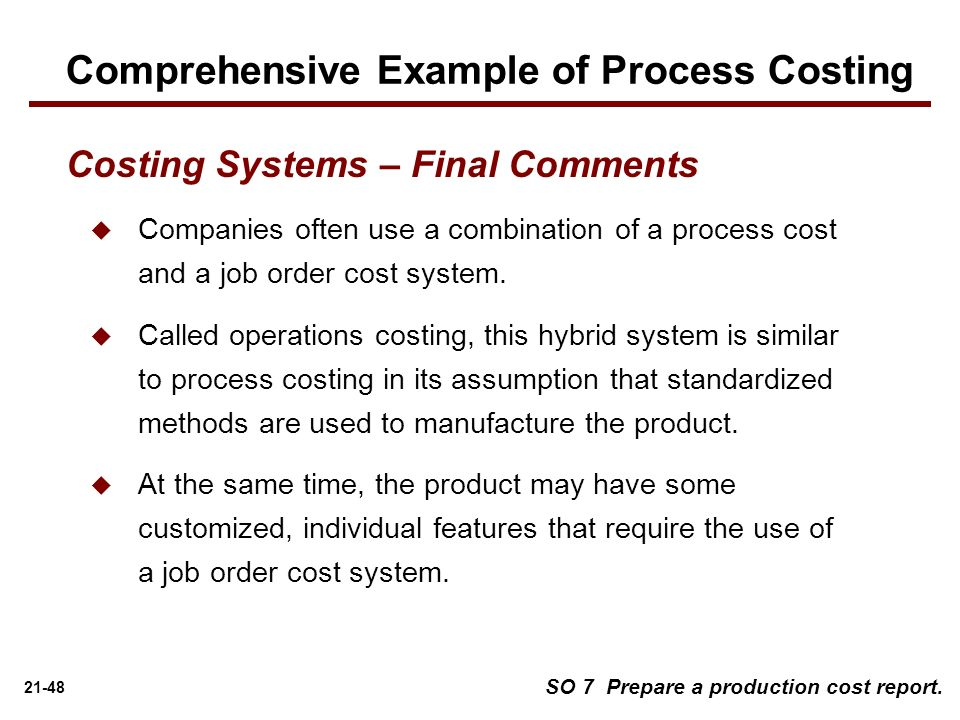 which of the following statements about process costing system is incorrect Acct 2110 t1 managerial which of the following statements is true job order costing provides more which one of the following occurs in a process cost system.