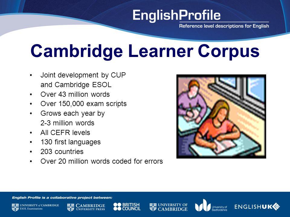 Cambridge Learner Corpus