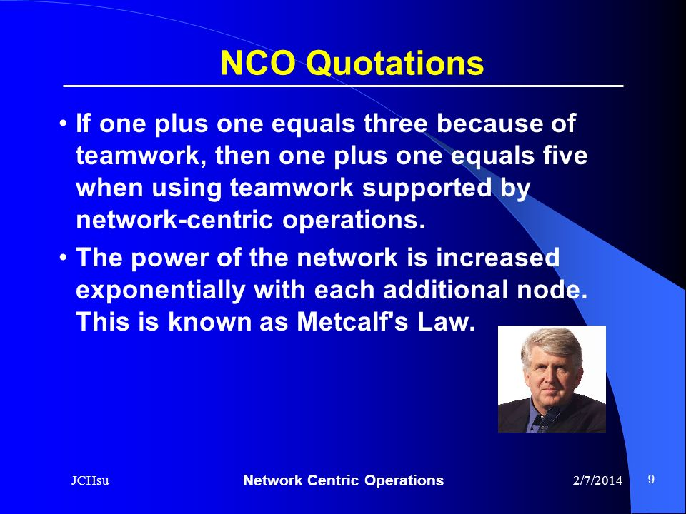 NCO Quotations