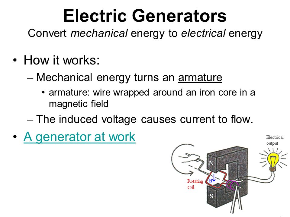 Electrical Mechanical Energy : Magnetism electromagnetic induction ppt video online