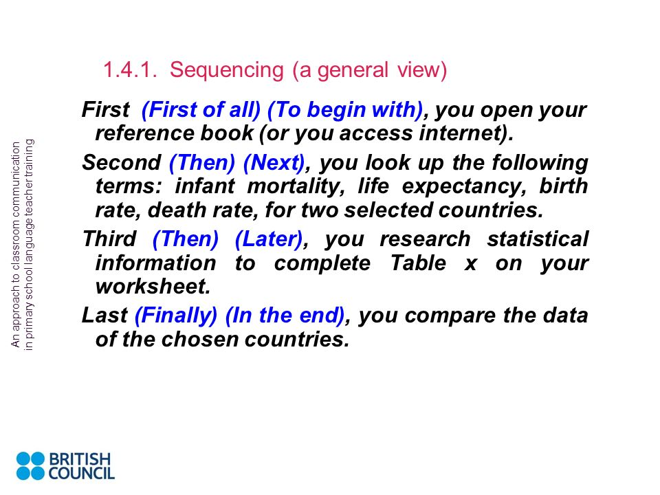 1.4.1. Sequencing (a general view)
