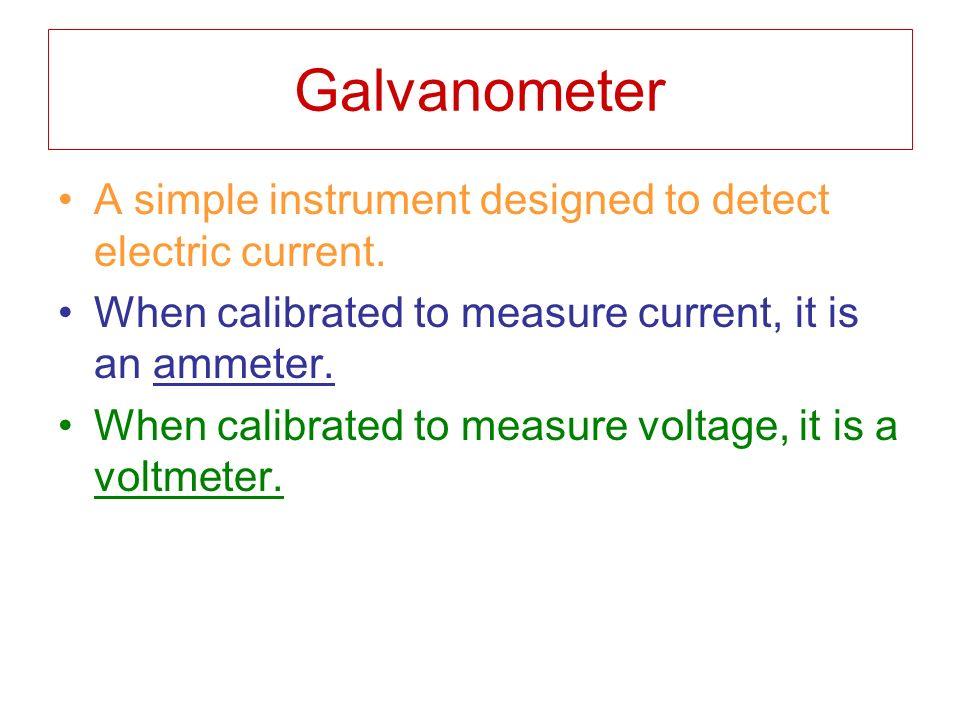 Instrument Current Electricity : Magnetism ppt video online download