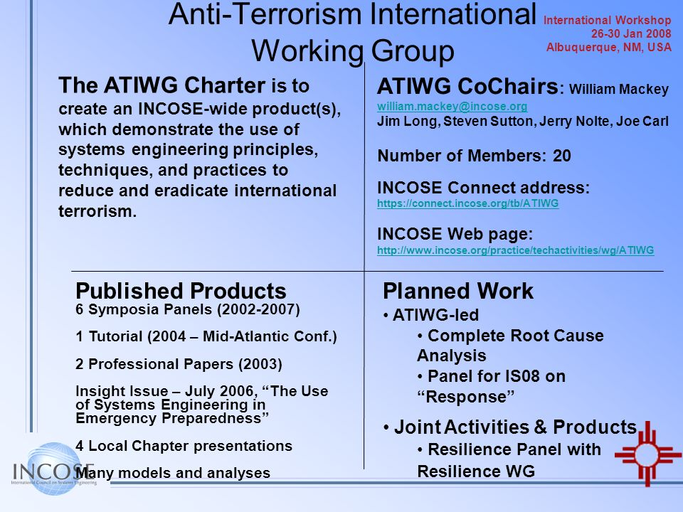 Anti-Terrorism International Working Group