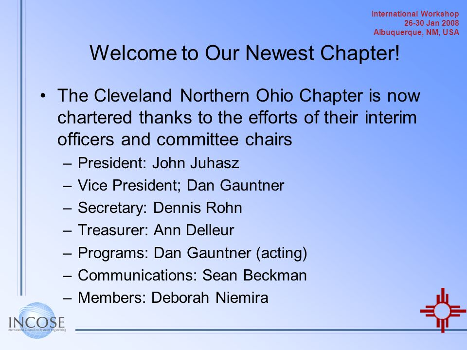 Welcome to Our Newest Chapter!