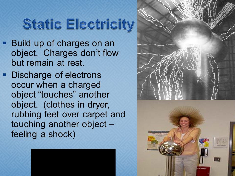 how to build up static electricity to shock someone