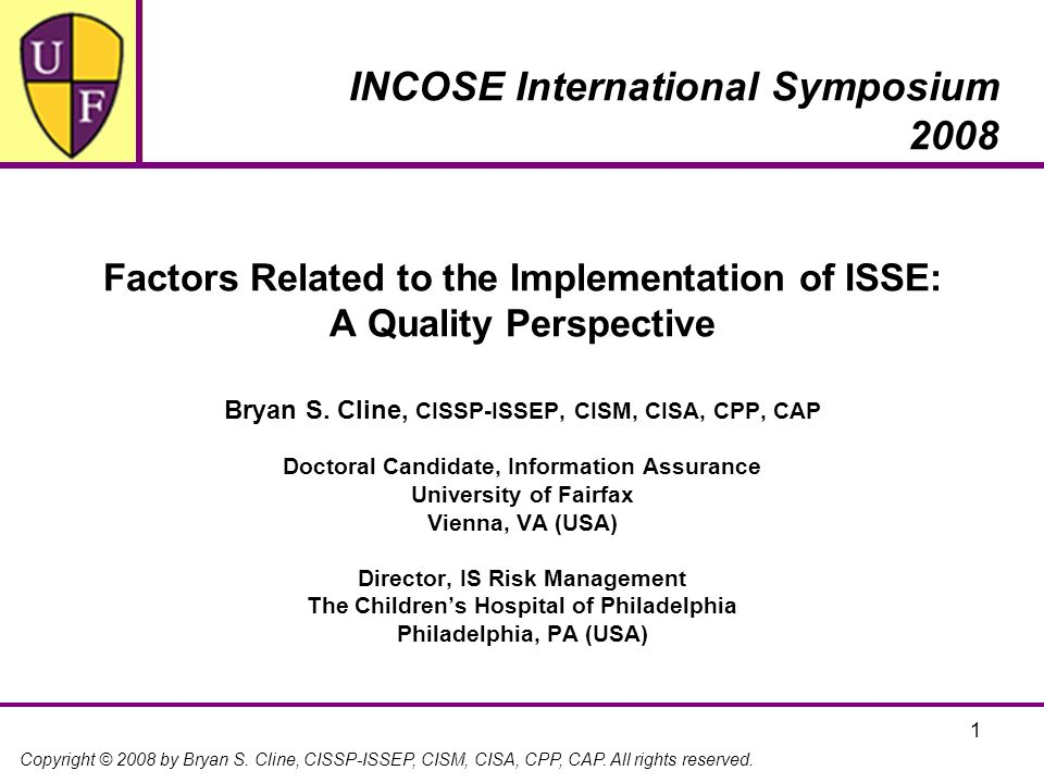 INCOSE International Symposium 2008