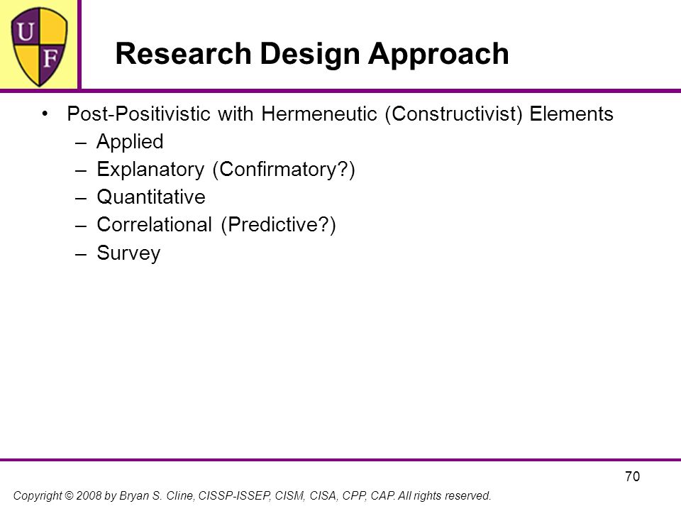 Research Design Approach