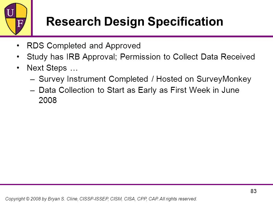 Research Design Specification