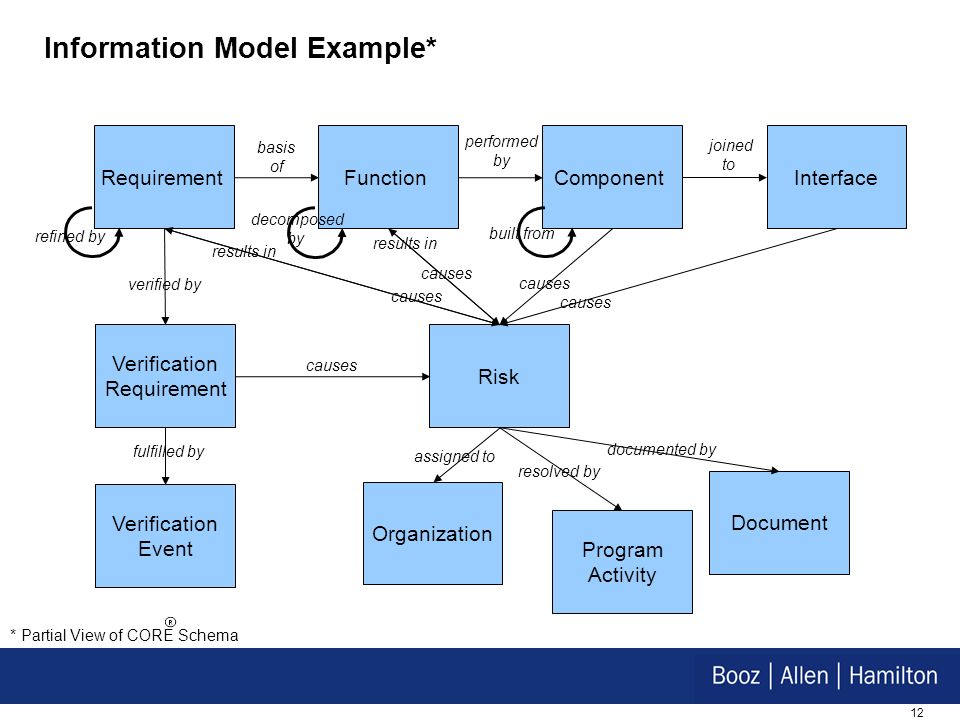 Information Model Example*