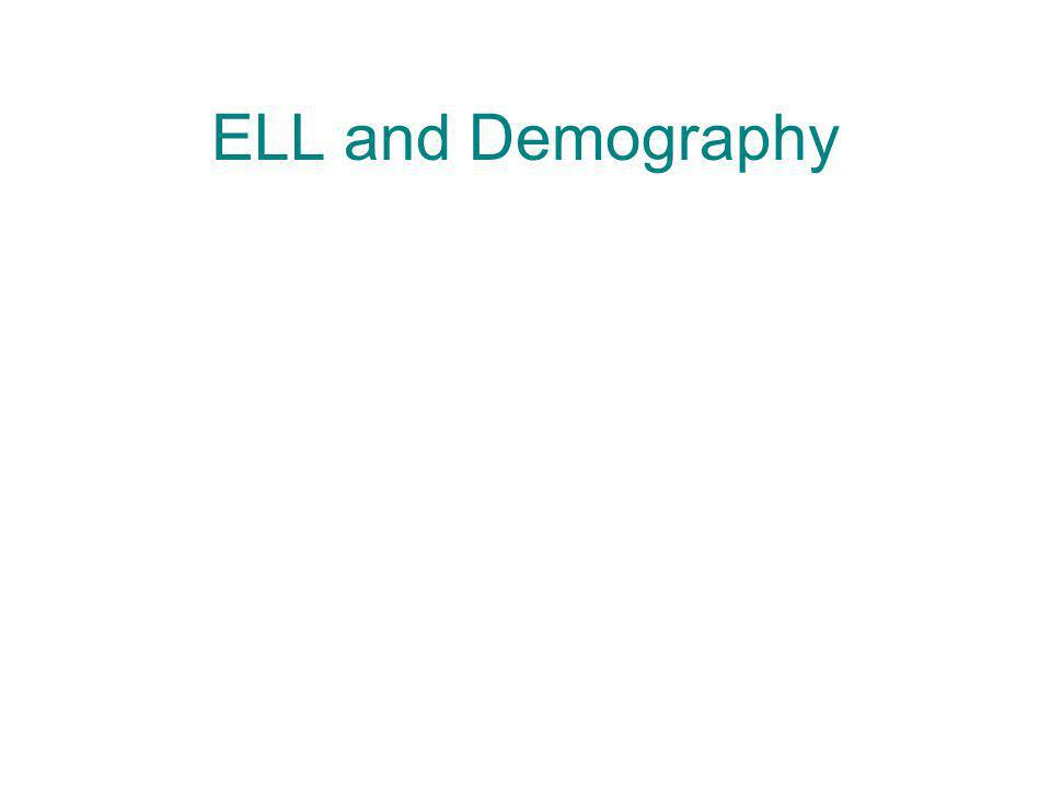 ELL and Demography