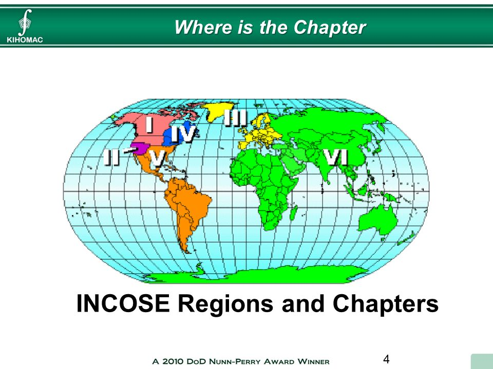 INCOSE Regions and Chapters