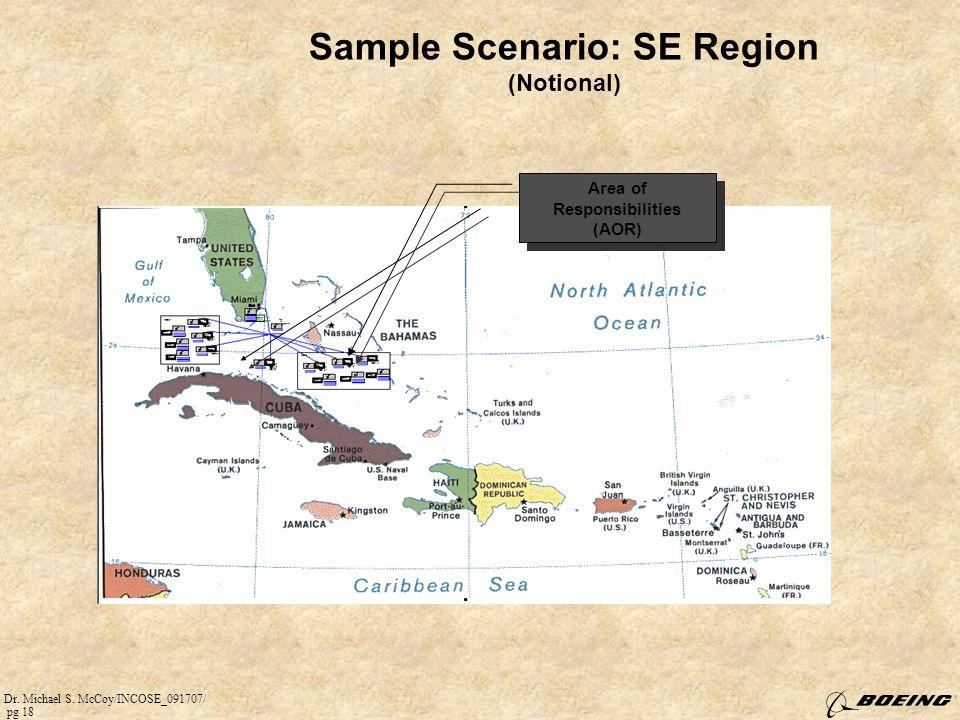 Sample Scenario: SE Region (Notional)
