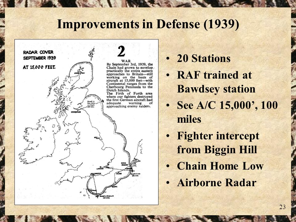 Improvements in Defense (1939)