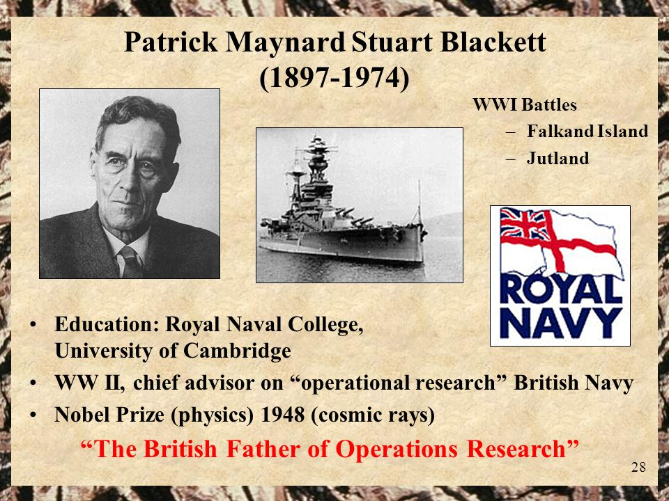 Patrick Maynard Stuart Blackett (1897-1974)