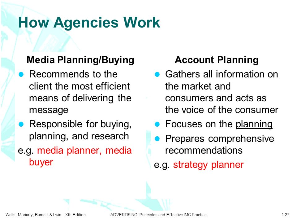 media buying agency business plan