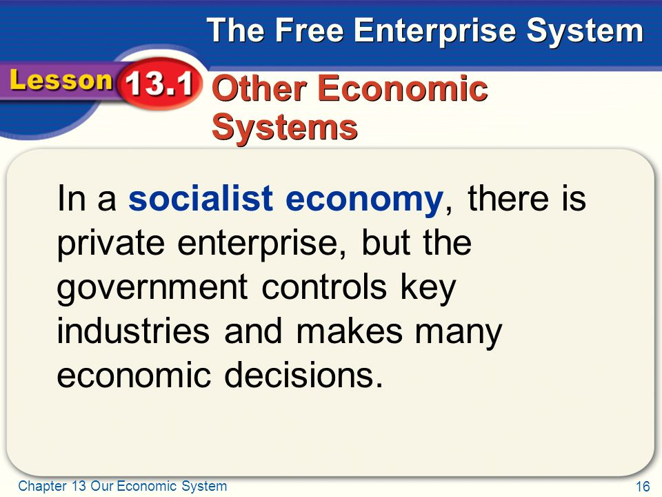 Other Economic Systems