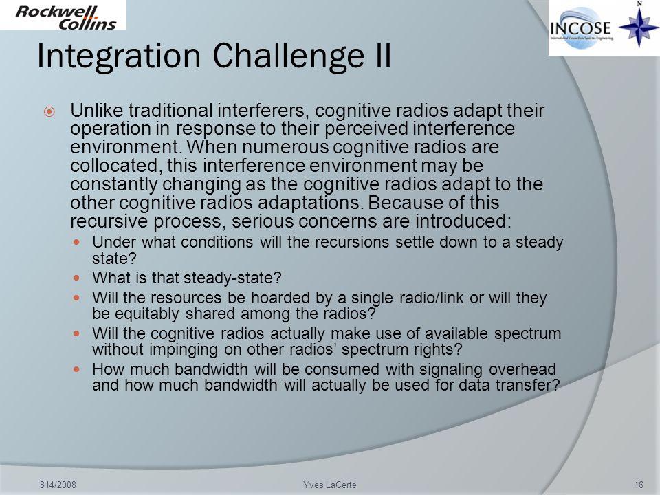 Integration Challenge II