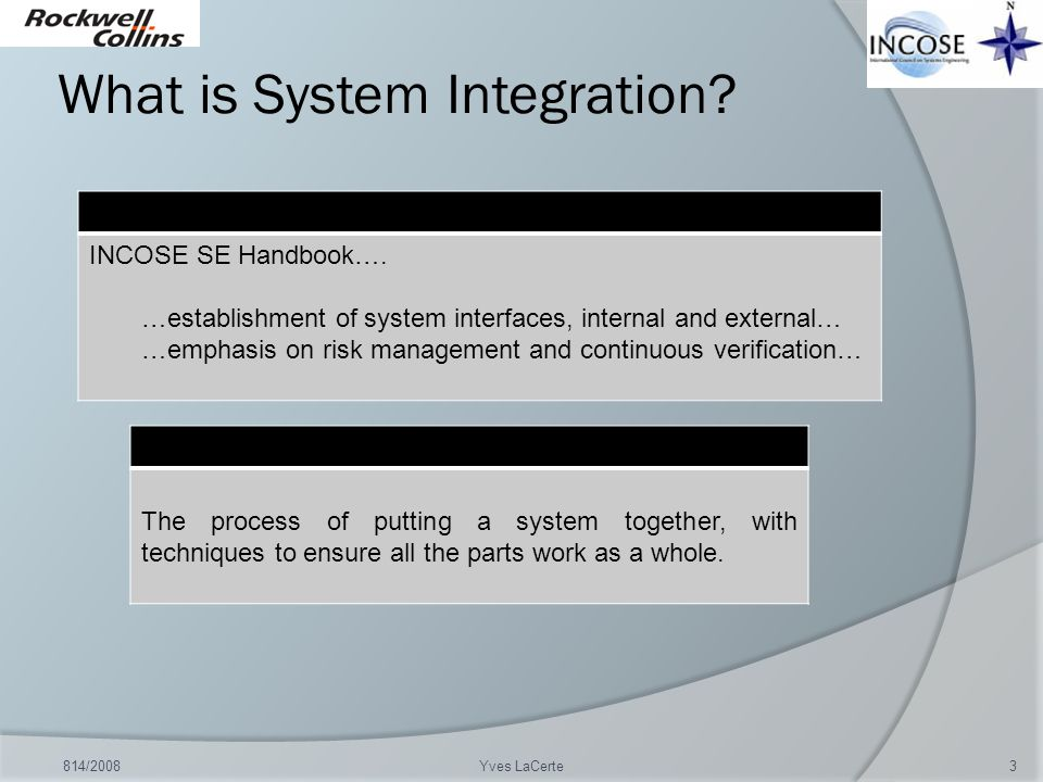 What is System Integration