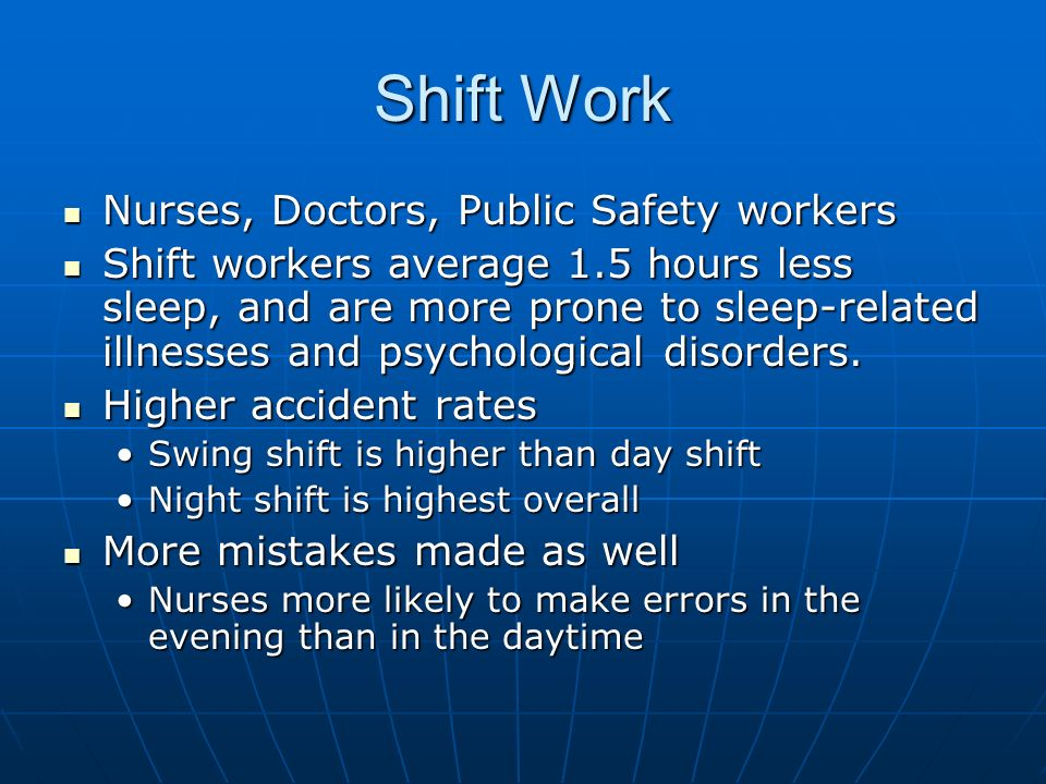 are night shift workers more prone Shift workers are more at risk of having a heart  said shift workers were more prone to sleeping and eating badly night shift workers are up all the.