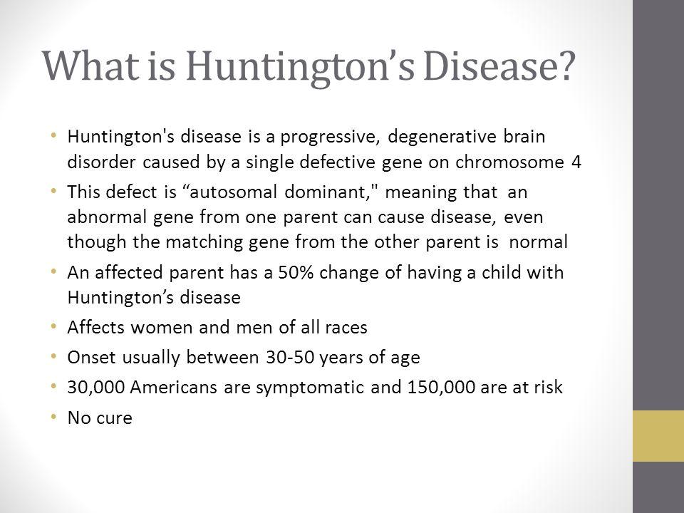 neurological disease hd Huntington's disease is an inherited disease that causes the progressive  breakdown (degeneration) of nerve cells in the brain huntington's.