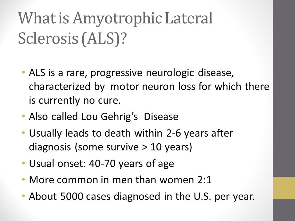 Chronic Neurological Diseases Ppt Video Online Download