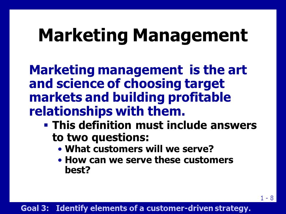 definition of marketing and management Marketing automation is a category of technology that allows companies to improve engagement and increase efficiency in order to grow revenue faster an environment for the creation, management and automation of marketing processes and conversations across online and offline channels.