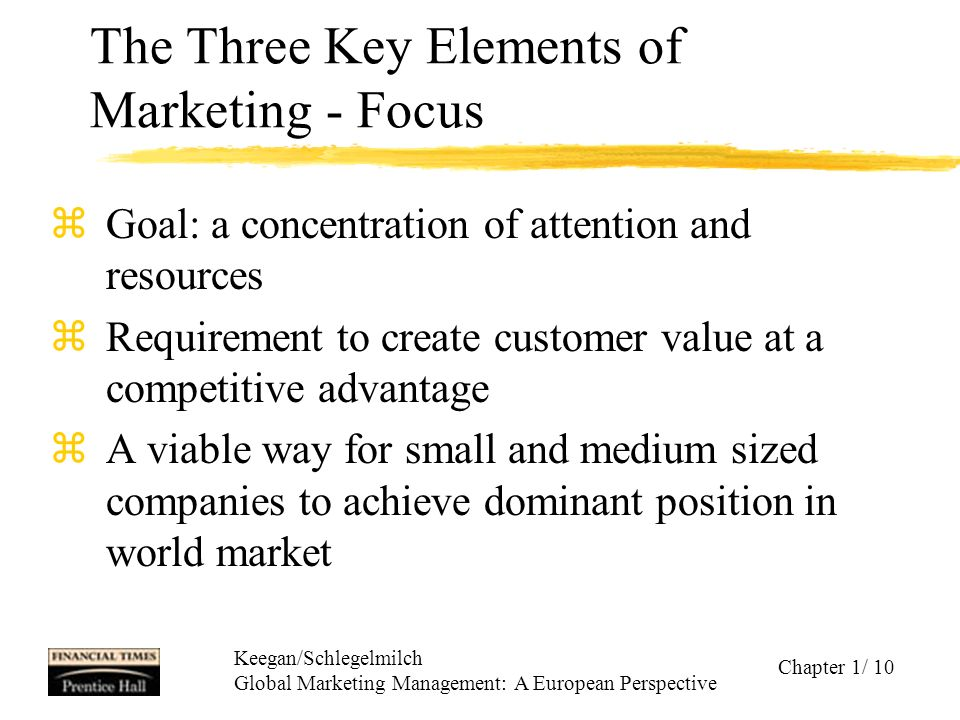 the key elements of marketing Your business will, and should, continue to evolve over time and so should  your marketing plan the basic elements that make up your marketing plan may.