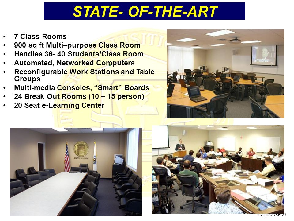 STATE- OF-THE-ART 7 Class Rooms 900 sq ft Multi–purpose Class Room