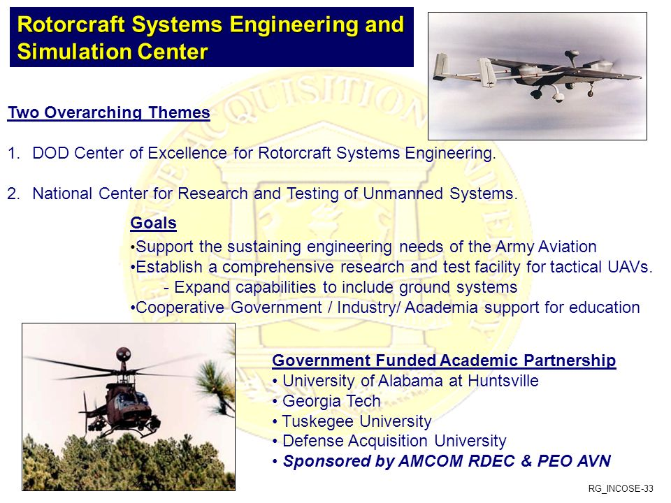 Rotorcraft Systems Engineering and Simulation Center