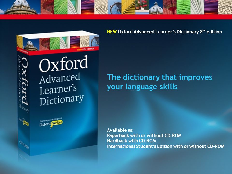 The dictionary that improves your language skills
