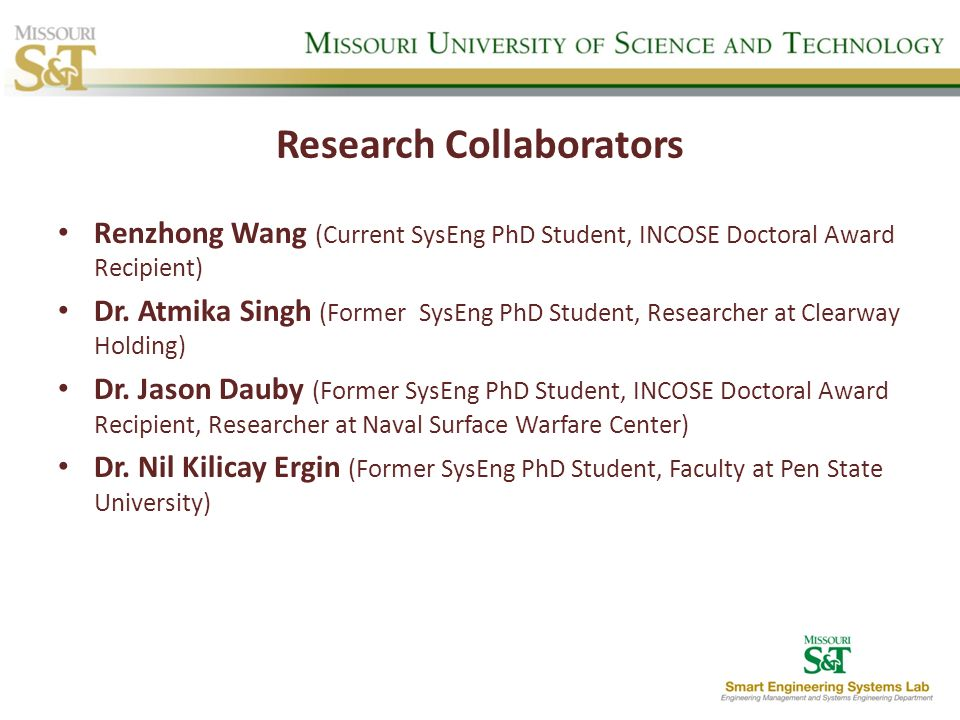 Research Collaborators