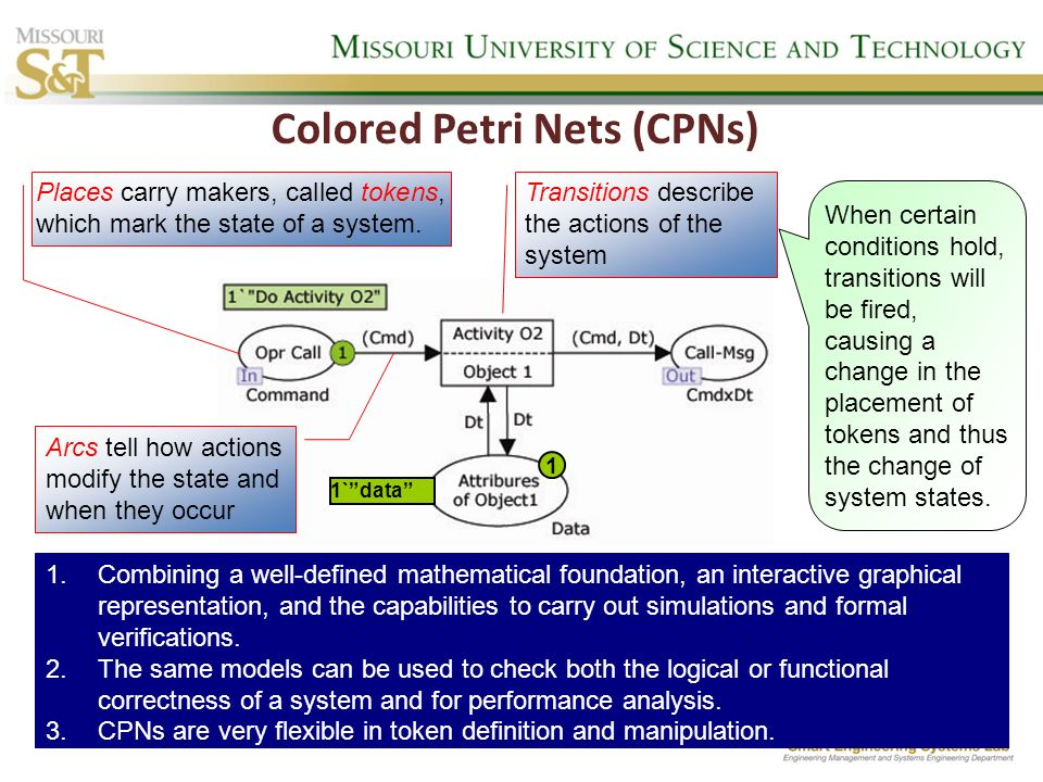 Colored Petri Nets (CPNs)