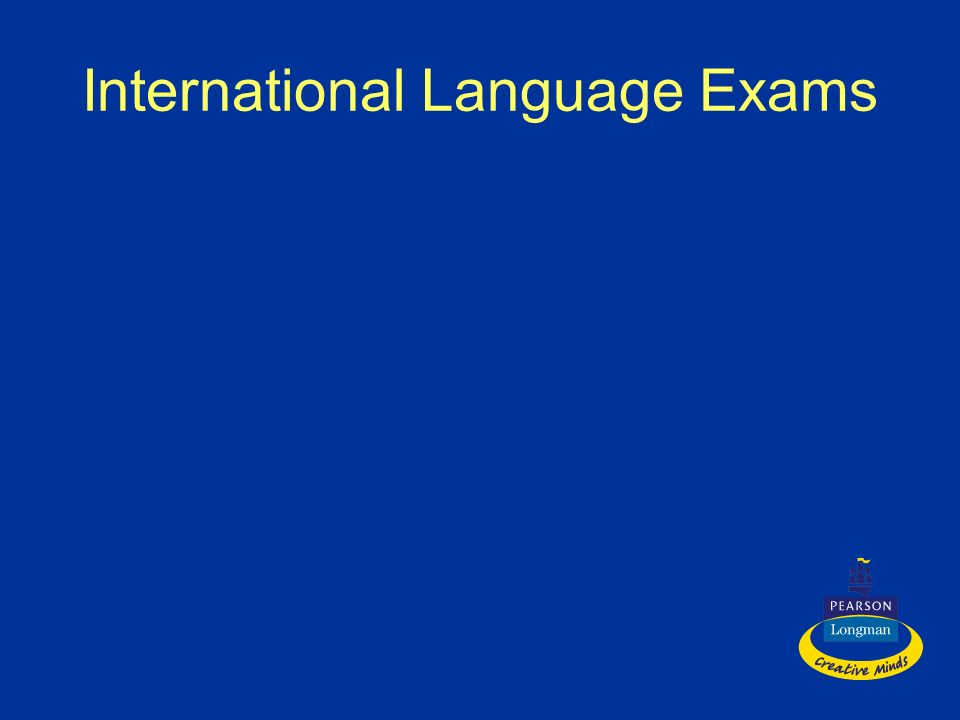 International Language Exams
