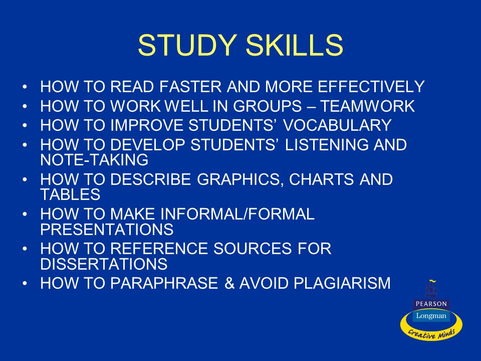 STUDY SKILLS HOW TO READ FASTER AND MORE EFFECTIVELY