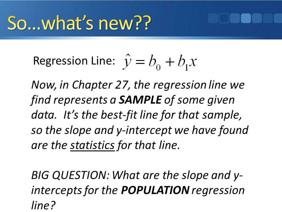 Inference for regression ppt download 6 sowhats ccuart Choice Image