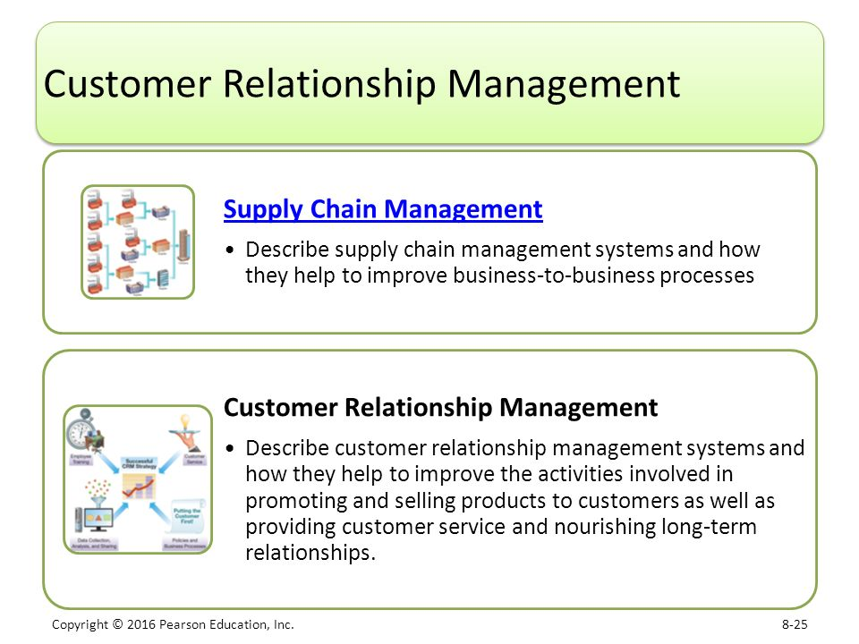 describe the supplier relationship and effects on supply chain