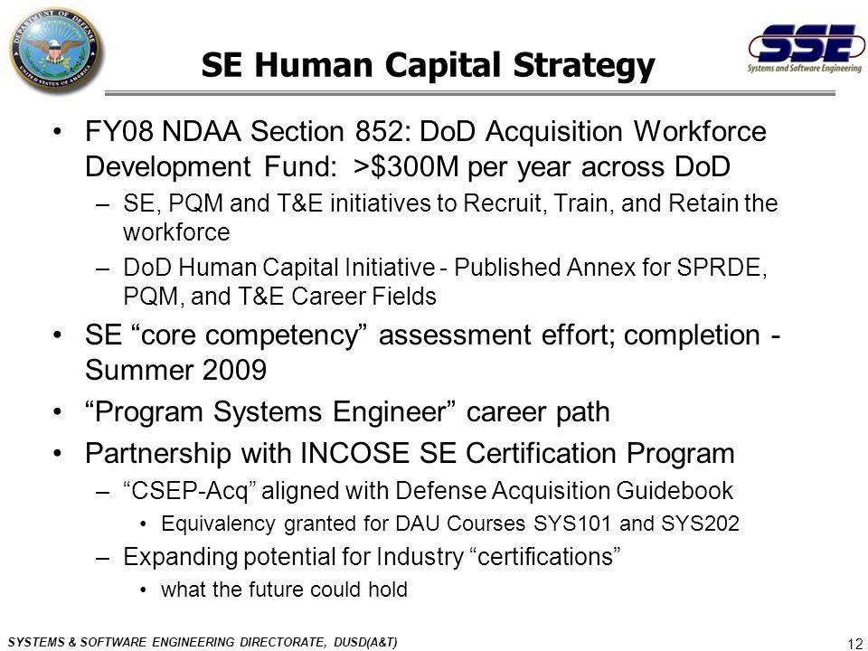 SE Human Capital Strategy