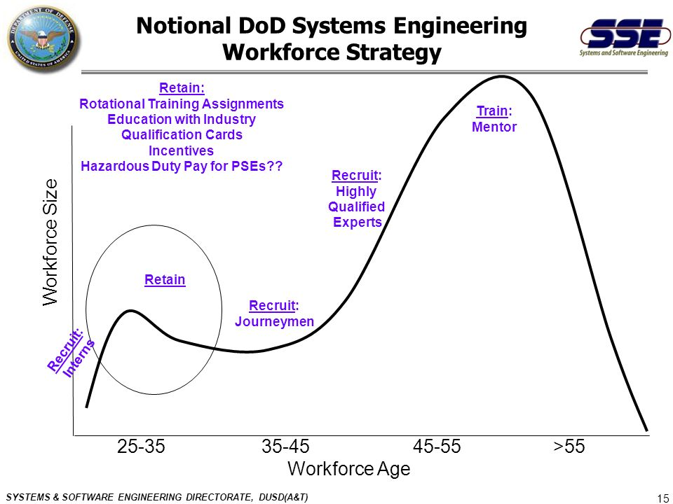 Notional DoD Systems Engineering Workforce Strategy