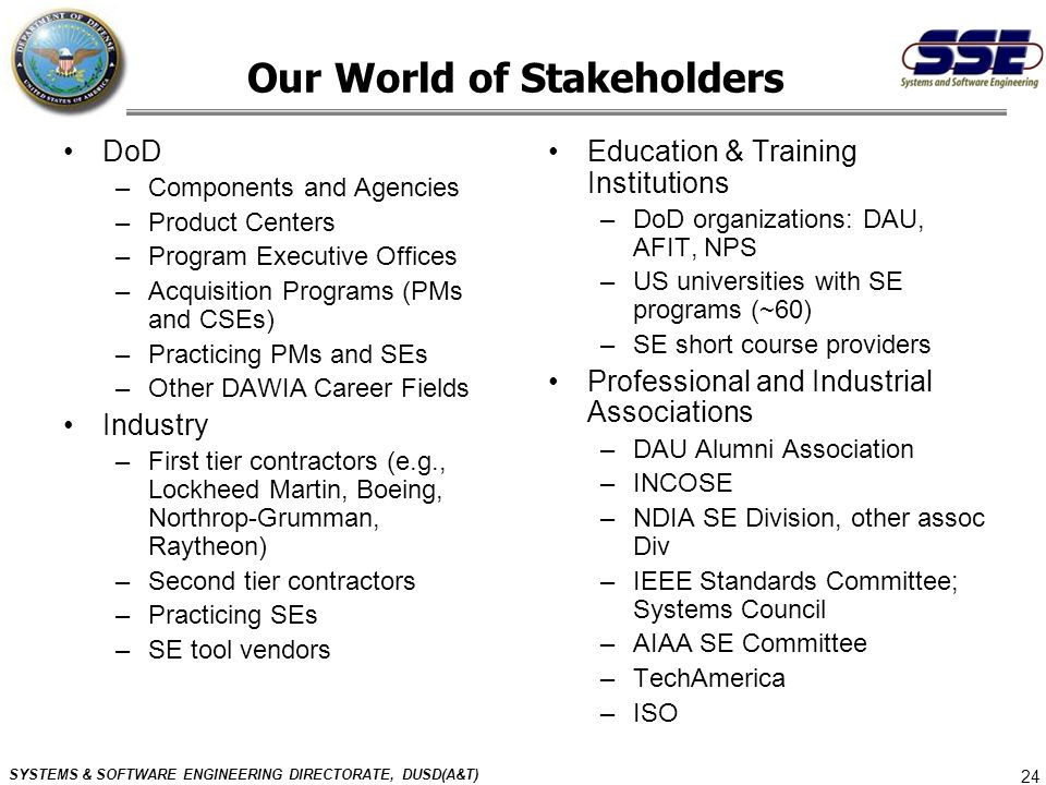 Our World of Stakeholders