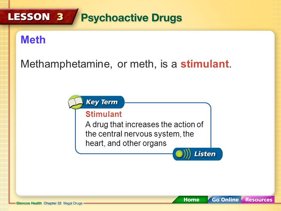 Methamphetamine and stimulants   Term paper Example
