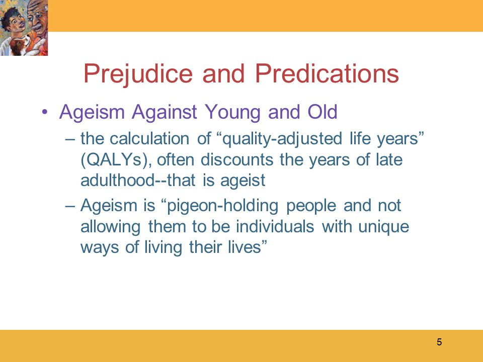 prejudice ant stereotypes among youth Free essay: stereotypes, discrimination and prejudice if a young girl is walking alone through a park late at night and encounters three senior citizens.
